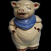 SOLD Shawnee Smiley Pig Cookie Jar USA