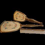 SALE Vanity Mirror Brush Comb Set