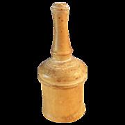 SALE Victorian Glove Powder Shaker Wood