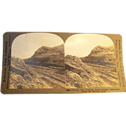 SALE Keystone Photo Stereoview Card Panama Canal