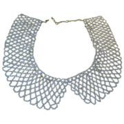 SALE Faux Pearl Collar