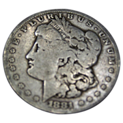 REDUCED 1881 S Morgan Silver Dollar