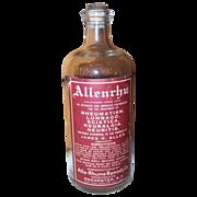 SALE Medicine Bottle Allenrhu Lumbago