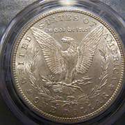 SALE 1880 S Morgan Silver Dollar PCGS MS 64