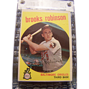 SALE 1959 Topps Brook Robinson Baseball Card #439