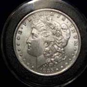REDUCED 1885 O Morgan Silver Dollar