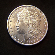 SALE 1897 Morgan Silver Dollar