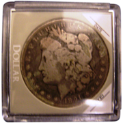 SALE Morgan Silver Dollar 1891 CC
