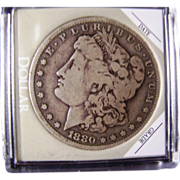 SALE Morgan Silver Dollar 1880