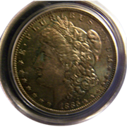 SALE Morgan Silver Dollar 1885 O