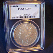 SALE Morgan Silver Dollar 1881 O