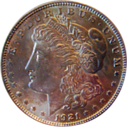 SALE Morgan Silver Dollar 1921 P