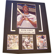 SALE Henry Aaron Collage