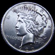 SALE Peace Dollar 1923