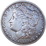 SALE Morgan Silver Dollar 1890 - O