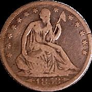 SALE Liberty Seated Half Dollar 1853