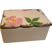 Franciscan Desert Rose Vanity Box