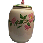 SALE Franciscan Desert Rose Cookie Jar