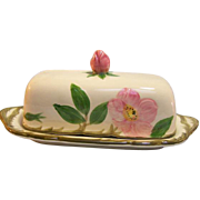 SALE Franciscan Desert Rose Covered Butter Dish