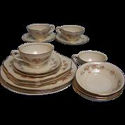 SALE Homer Laughlin Dinnerware Eggshell Georgian 20 pc