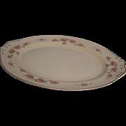 SALE Homer Laughlin Platter Eggshell Georgian