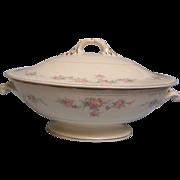 SALE Homer Laughlin Covered Bowl Eggshell Georgian