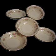 SALE Homer Laughlin Dessert Bowl Eggshell Georgian