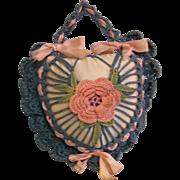 SALE Crochet Pillow Sachet