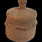 SALE Primitive Wood Butter Mold