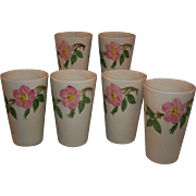 SALE Franciscan Desert Rose Tumblers Set of 6