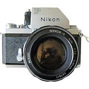 Nikon Photomic FTn Camera c1968