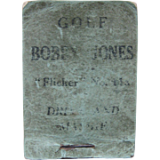 1930s Flicker Book No 11a Bobby Jones Drive and Mashie
