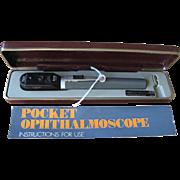 1970s Keeler Pocket Opthalmascope