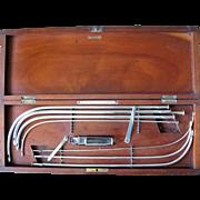 19th Century Part Dilatory Set by Medical Supply Association Edinburgh