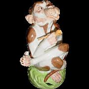 SALE Sassy Dresden Monkey Smoking Pipe