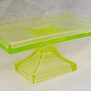 SALE Rare Vaseline Clark Teaberry Gum Pedestal Display  Stand