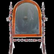 SALE Antique Miniature Doll Dressing Mirror