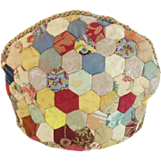 SALE Antique Crazy Quilt Tea Cozy