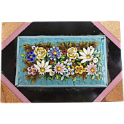SALE 19C Micro Mosaic Paperweight