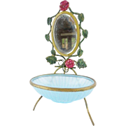 Palais Royal Opaline Trinket Dish.