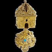 "Palais Royal Jeweled Money Box ""RARE"""