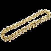 Grandest 5.60 carat 14K Diamond Bracelet