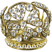 Antique French Miniature Jeweled Crown