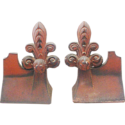 "Rare Antique French Roof Tiles  ""PAIR"""