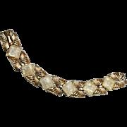 SALE Coro Yellow Confetti Lucite Bracelet