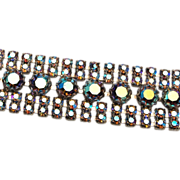 SALE AB Rhinestone Bracelet - Gorgeous!