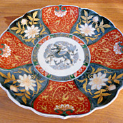SALE Japanese Imari Lotus Shaped Dish – Meiji Period, circa 1870