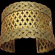 SALE Sandor Brass Cuff Bracelet
