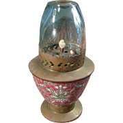 SALE Rare Vintage Chinese Oil Lamp