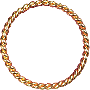 SALE Henkel Grosse Bangle Bracelet - 1970